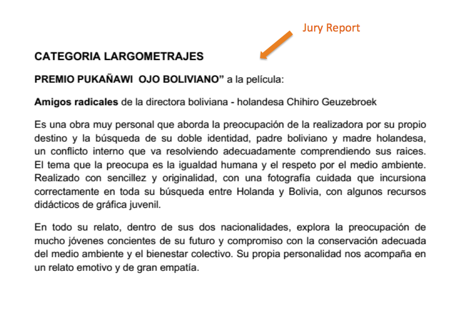 jury report